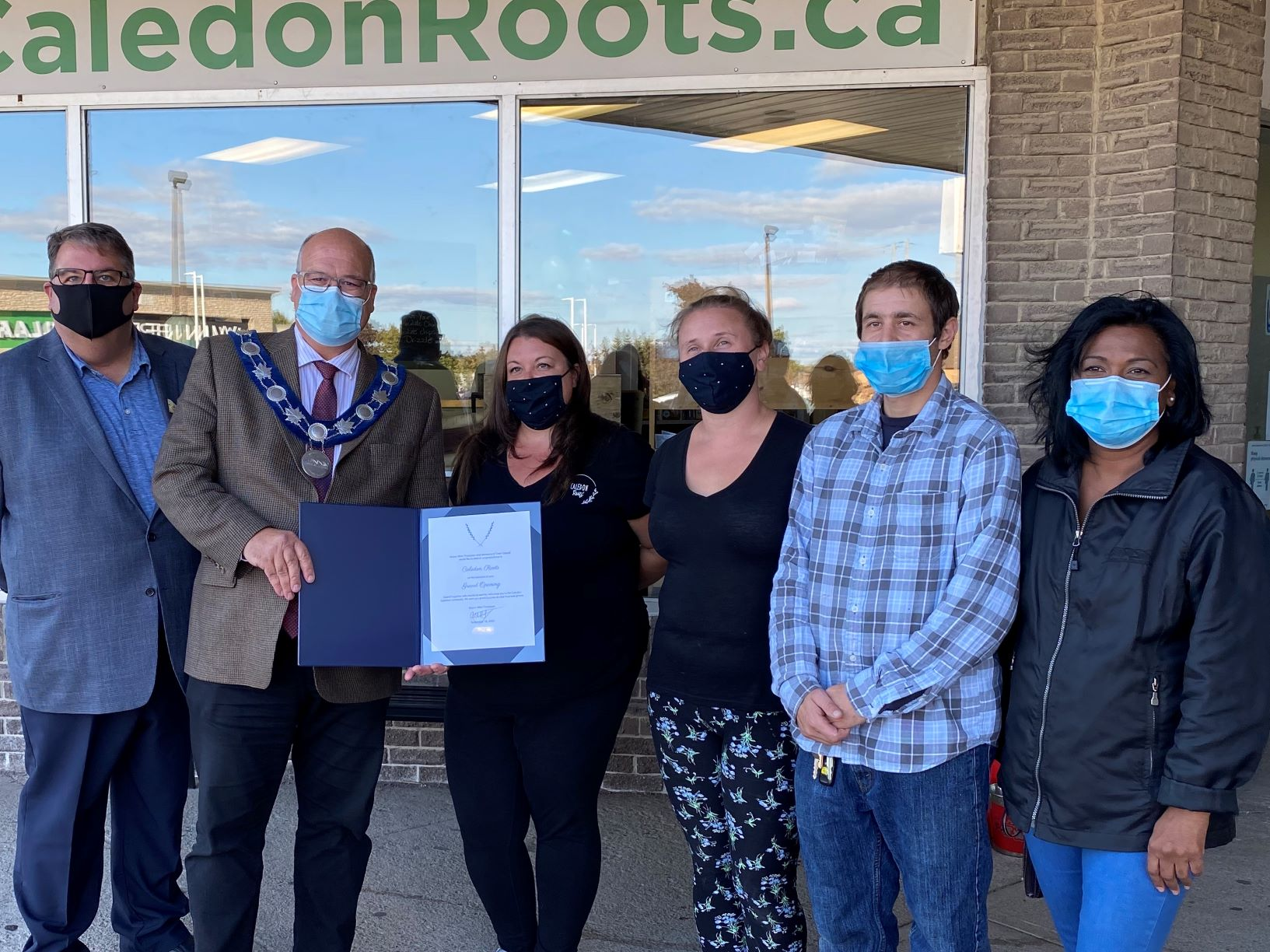 Caledon Roots grand opening
