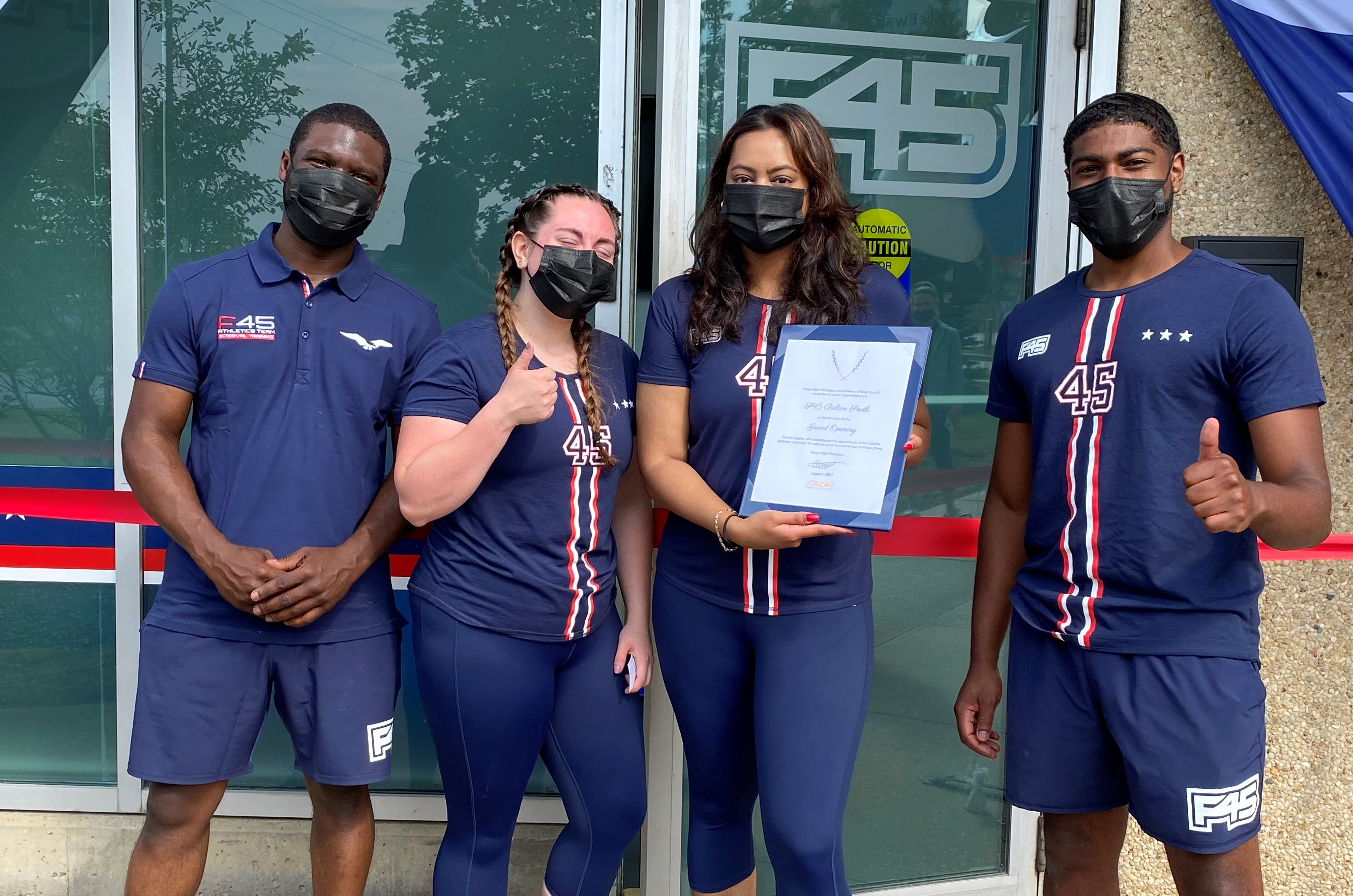 owners of F45 Training Bolton South