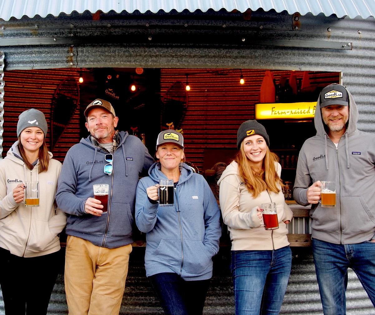 Goodlot Farmstead Brewing team