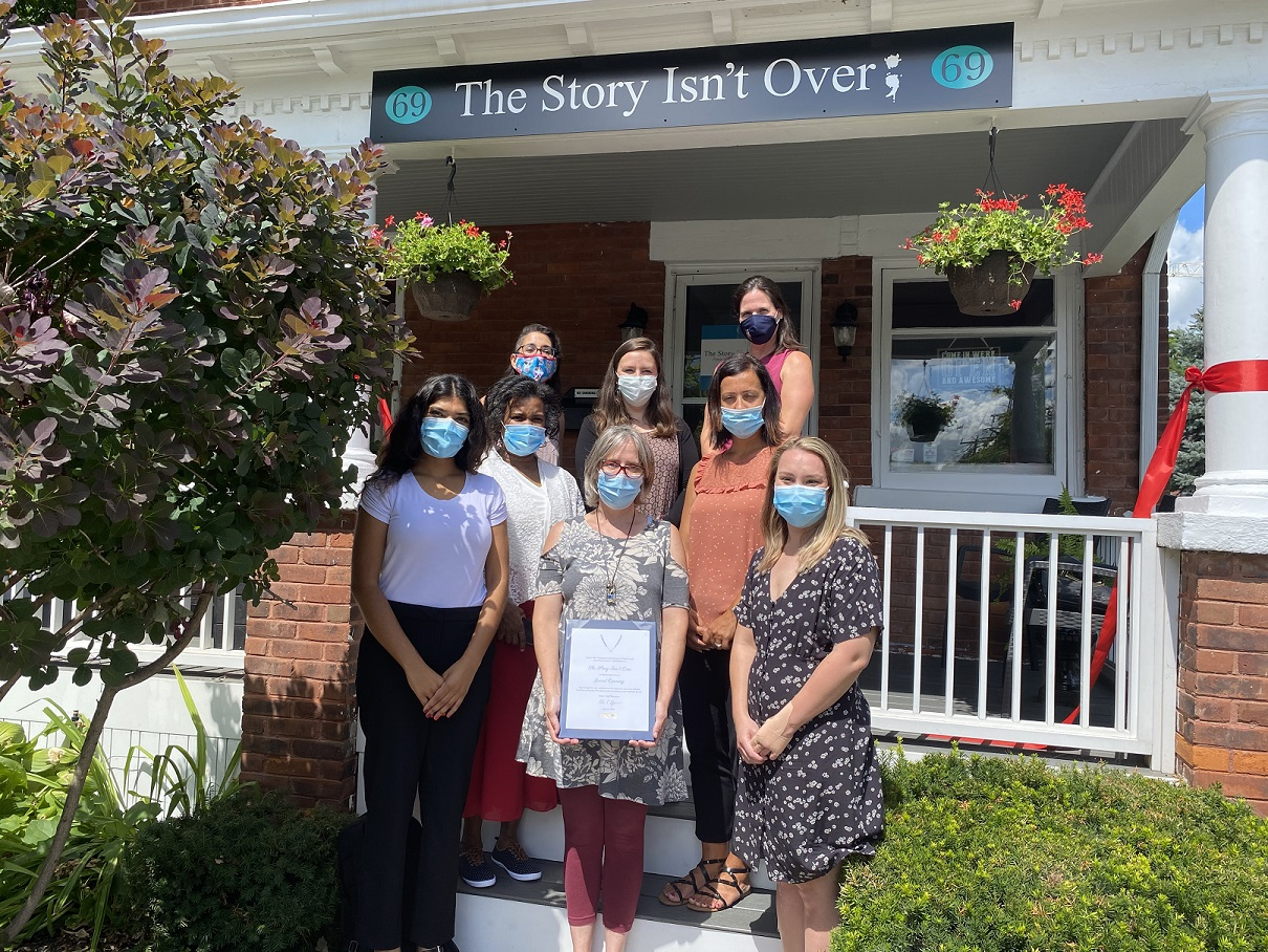 The Story Isnt Over therapist team